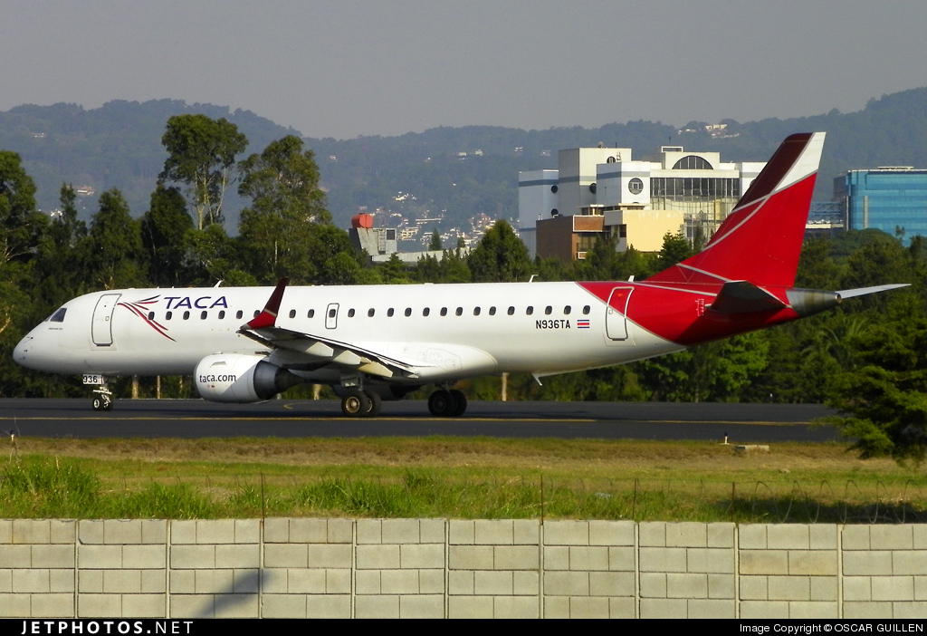 N936TA - Embraer 190-100IGW - TACA International Airlines