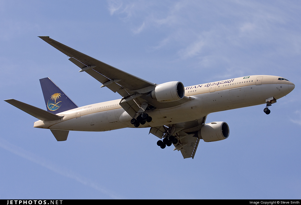 HZ-AKC - Boeing 777-268(ER) - Saudi Arabian Airlines