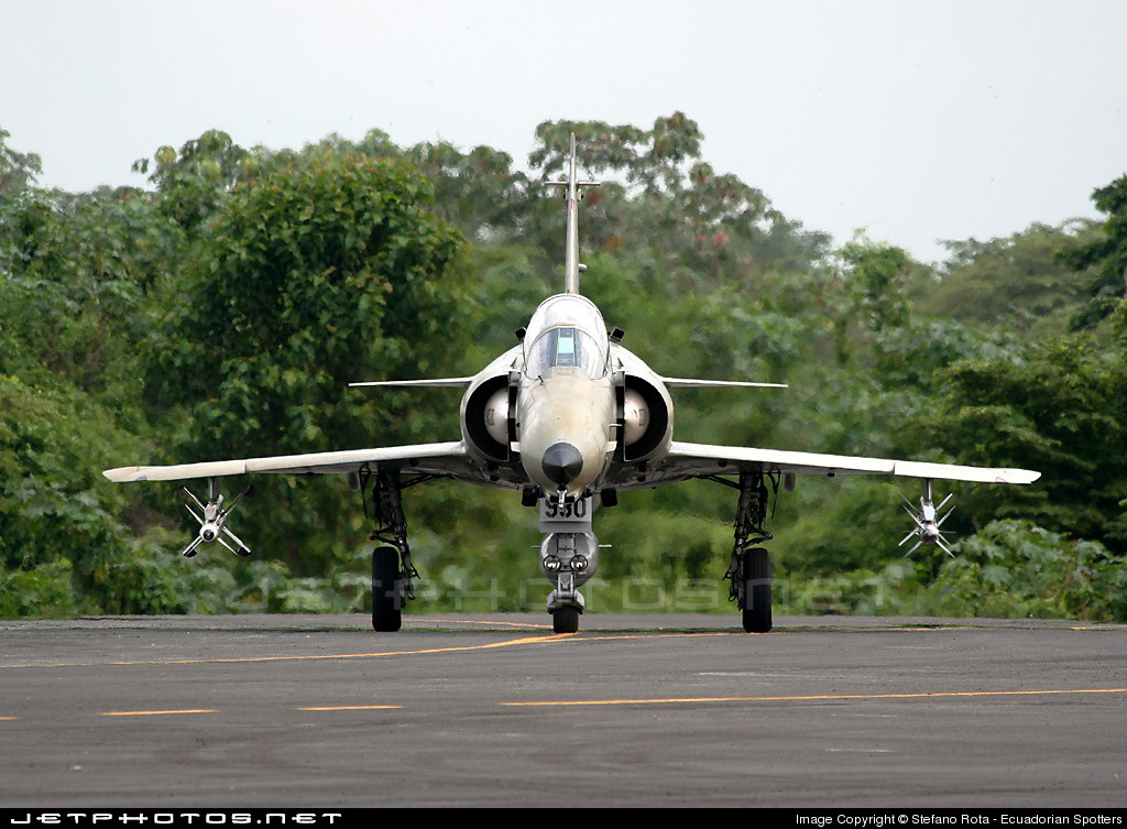 FAE930 - IAI Kfir C2 - Ecuador - Air Force