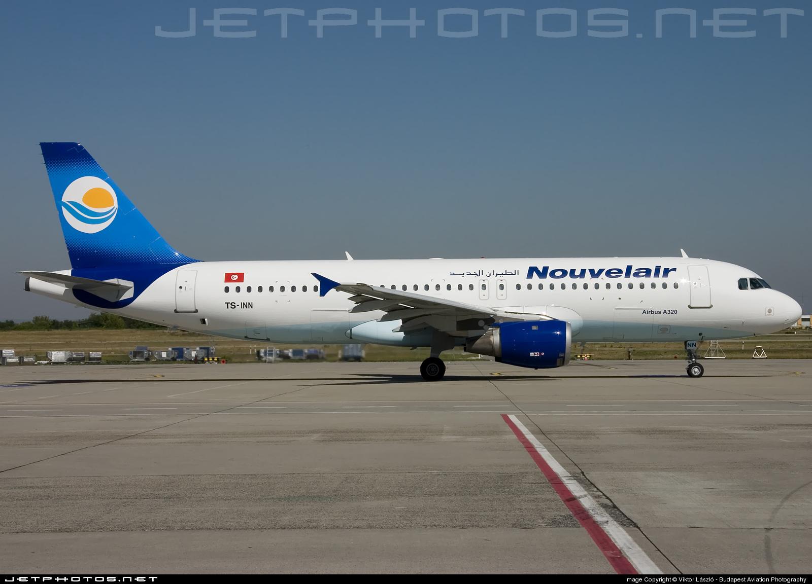 TS-INN - Airbus A320-212 - Nouvelair