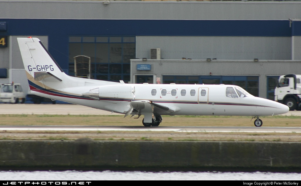 G-GHPG - Cessna 550B Citation Bravo - MCP Aviation