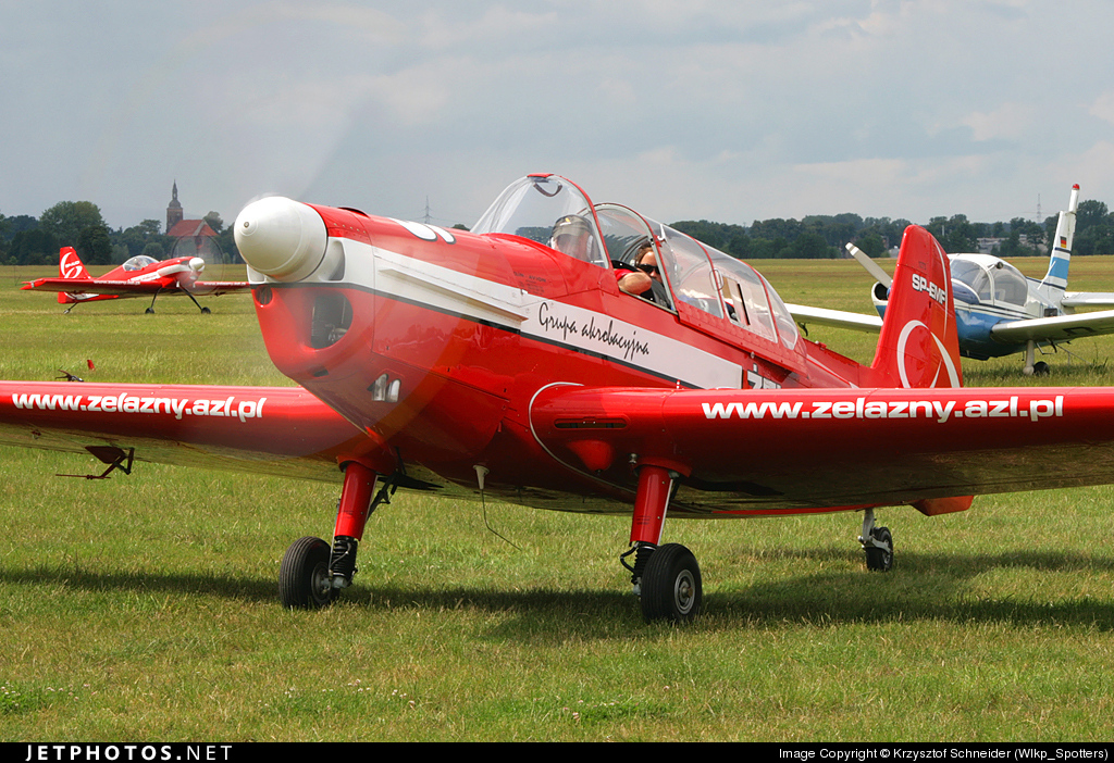 SP-EMF - Zlin 526 - Zelazny Aerobatic Team