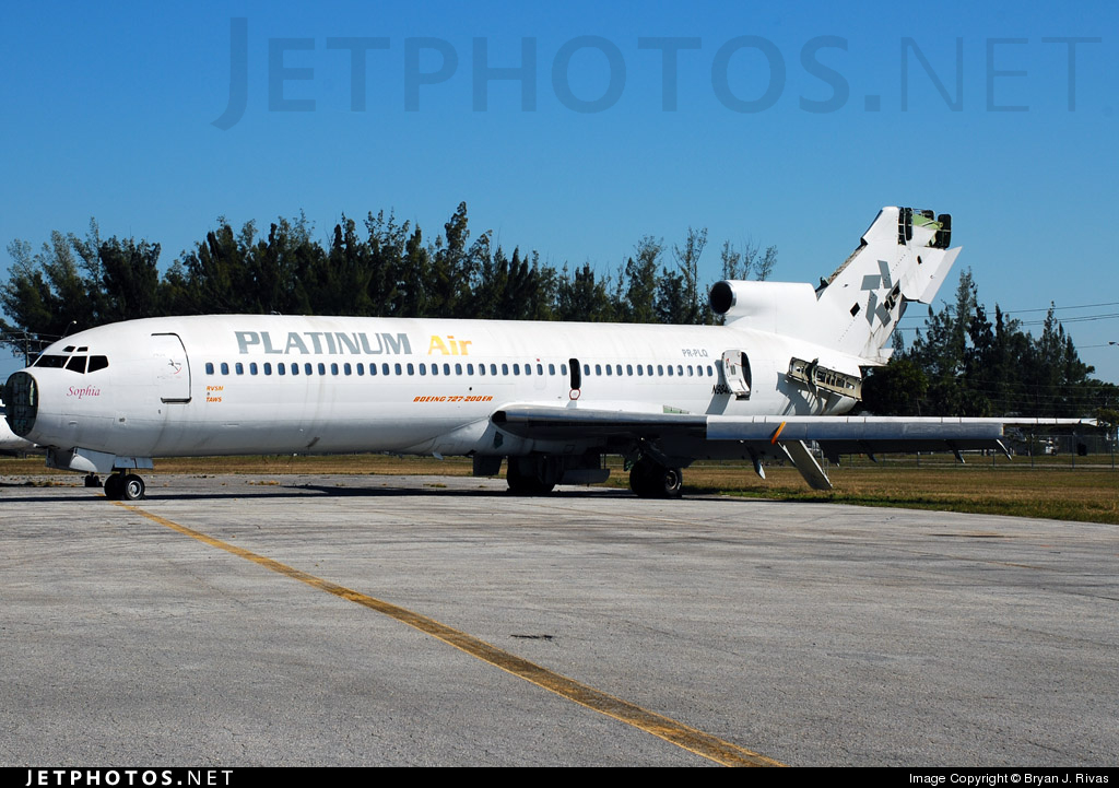 N984RT - Boeing 727-231(Adv) - Platinum Air