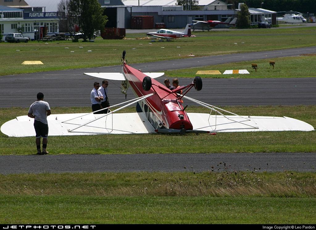 ZK-BQV - Piper PA-18-105 Super Cub - Private