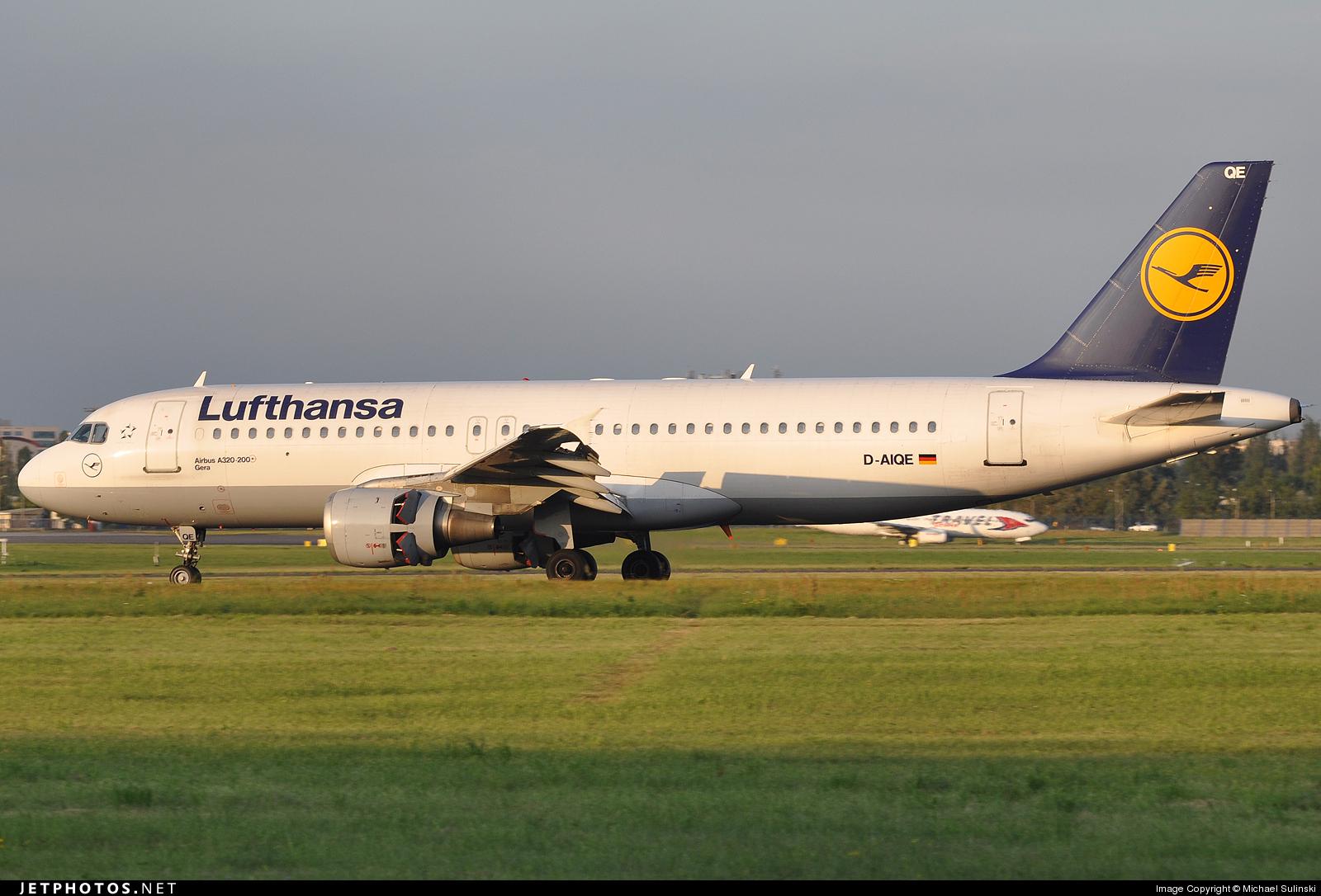 D-AIQE - Airbus A320-211 - Lufthansa