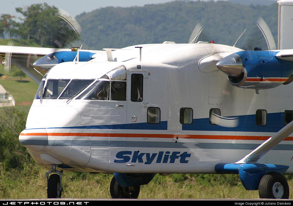 PT-PQD - Short SC-7 Skyvan 3-100 - Skylift