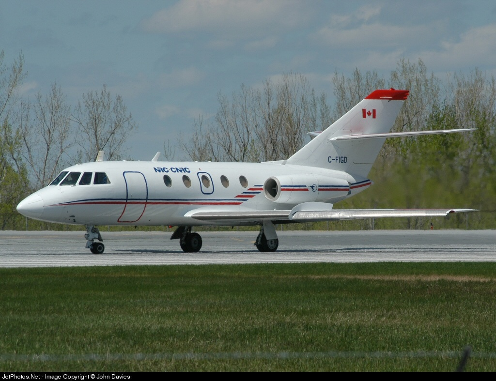 C-FIGD - Dassault Falcon 20C - National Research Council Canada