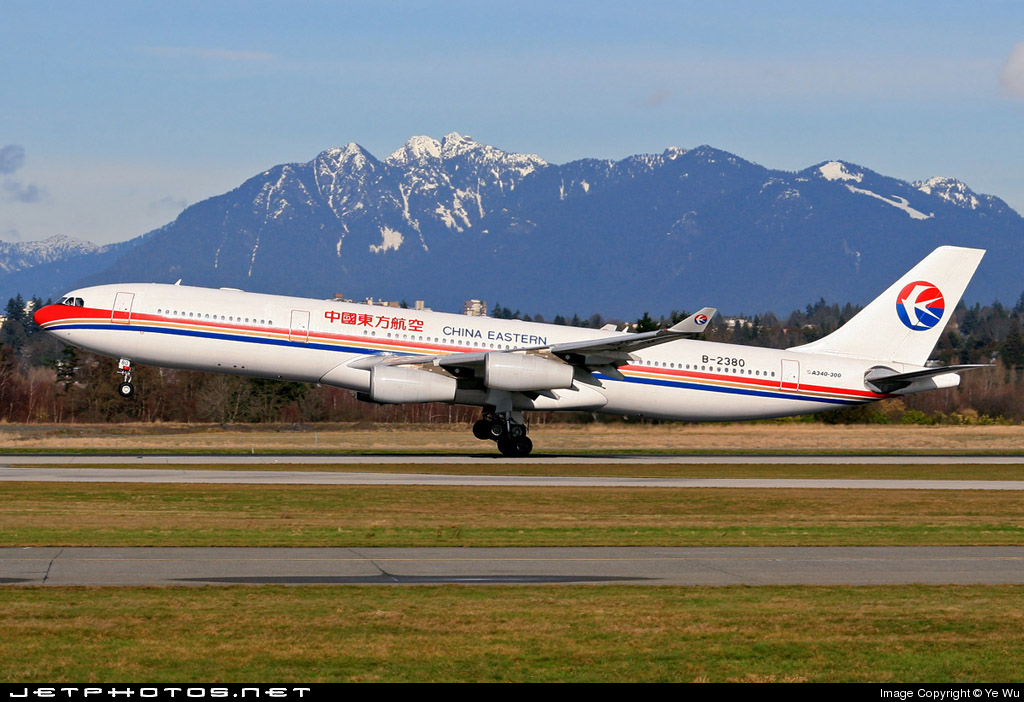 B-2380 - Airbus A340-313X - China Eastern Airlines