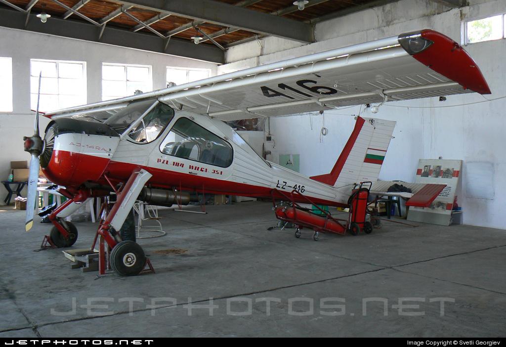 LZ-416 - PZL-Okecie 104 Wilga 35 - Private
