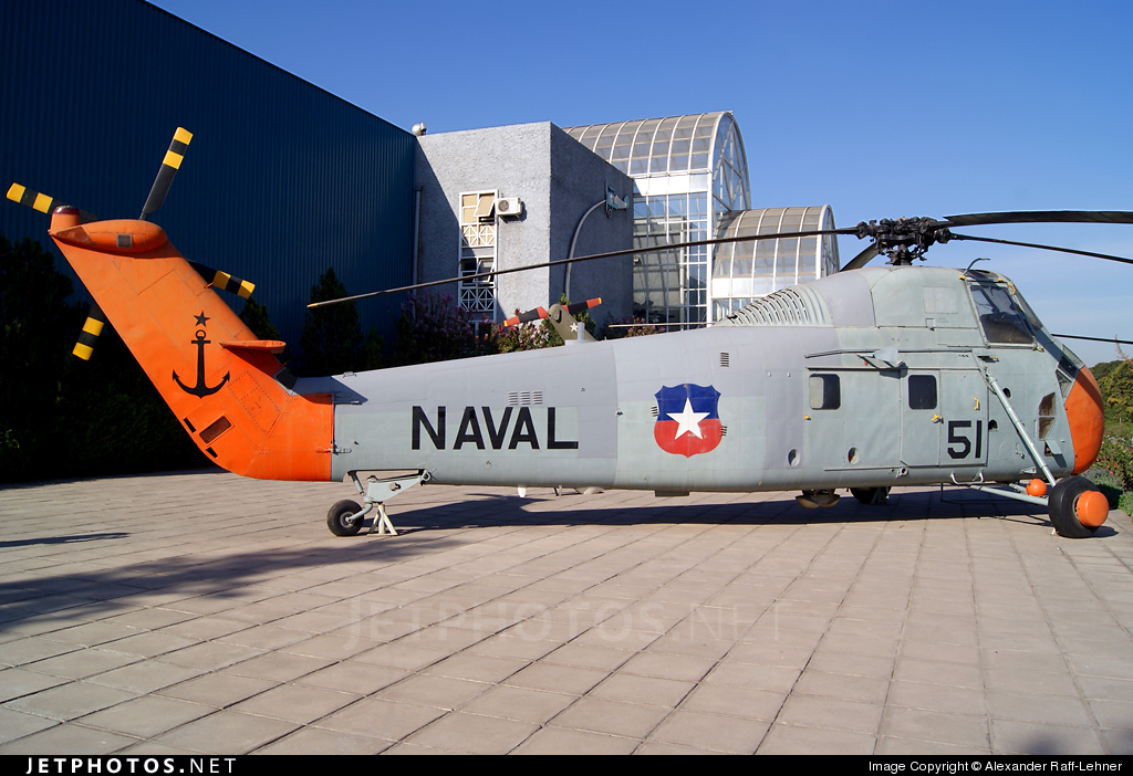 51 - Sikorsky HSS-1 Seabat - Chile - Navy