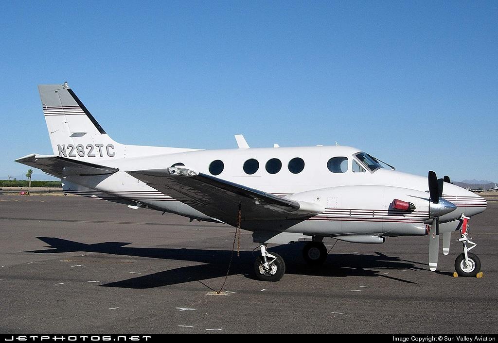 N282TC - Beechcraft E90 King Air - Private