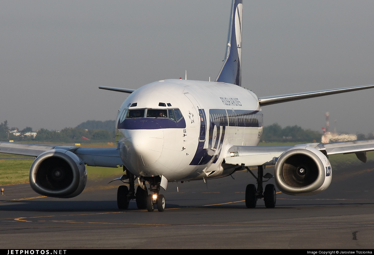 SP-LKA - Boeing 737-55D - LOT Polish Airlines