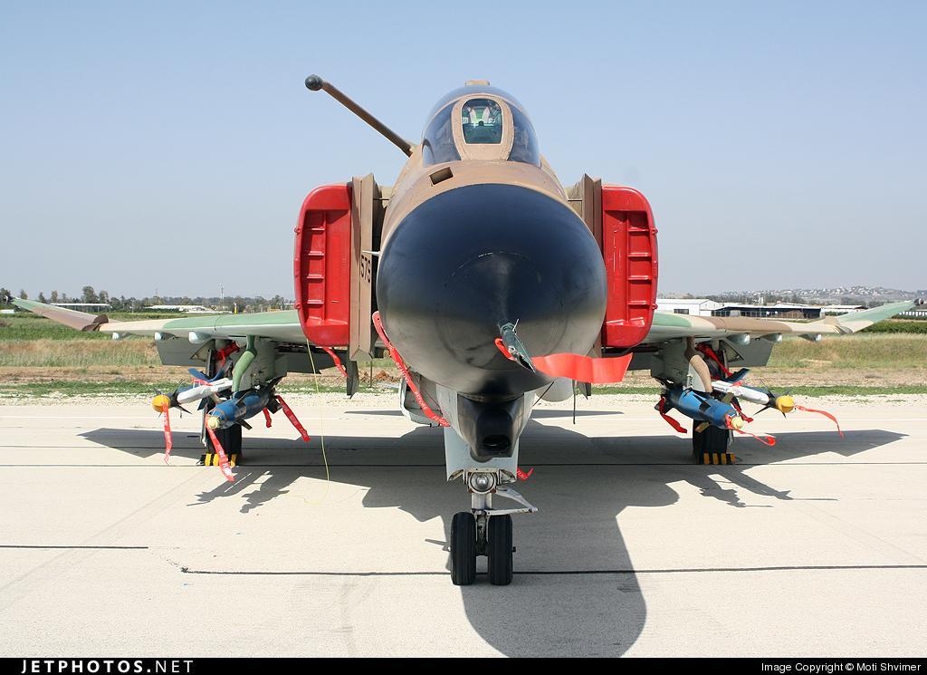 579 - McDonnell Douglas F-4E Kurnass - Israel - Air Force
