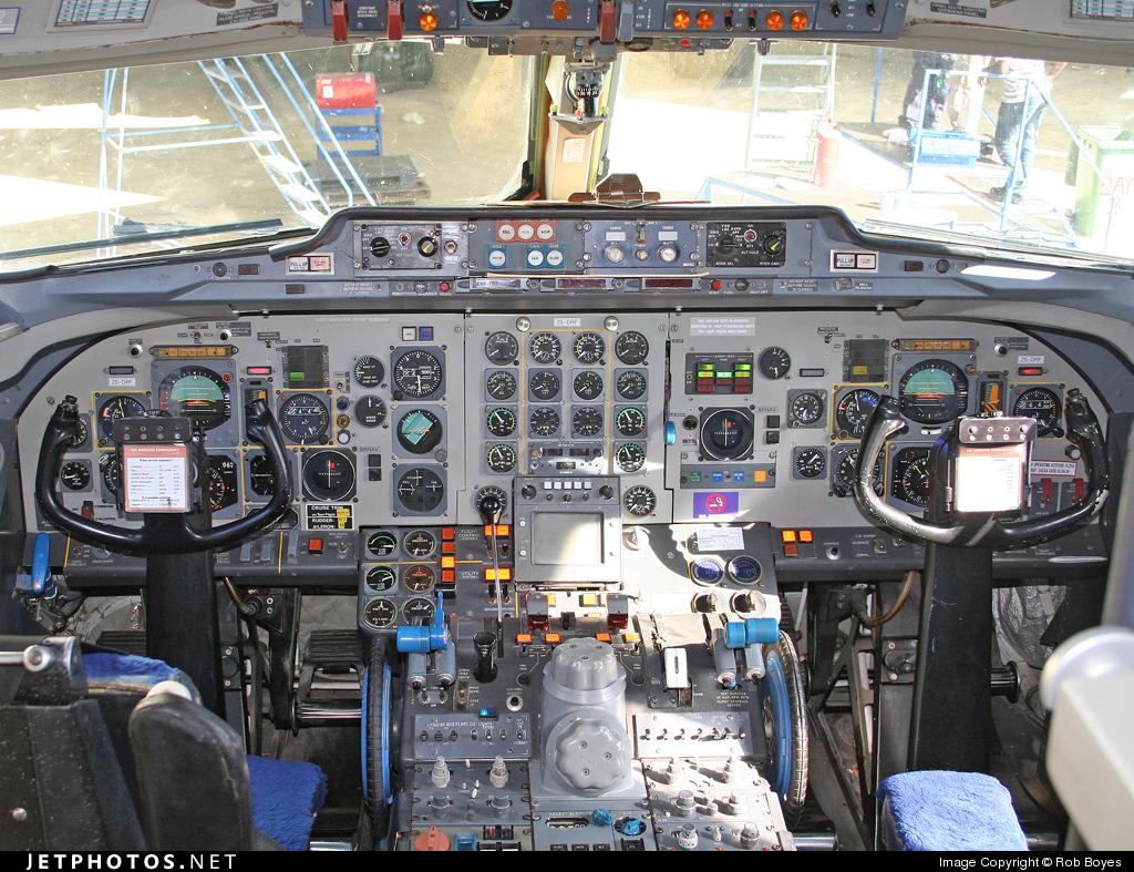 ZS-DRF - Fokker F28-4000 Fellowship - Airquarius Aviation