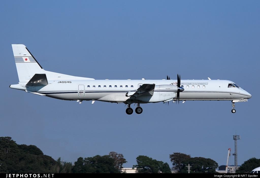 ja004g saab 2000 japan civil aviation bureau nrt spotter jetphotos. Black Bedroom Furniture Sets. Home Design Ideas