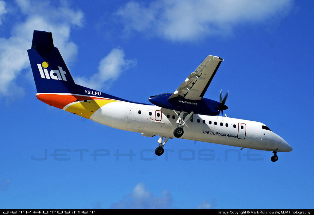 V2-LFU - Bombardier Dash 8-Q314 - Leeward Islands Air Transport (LIAT)