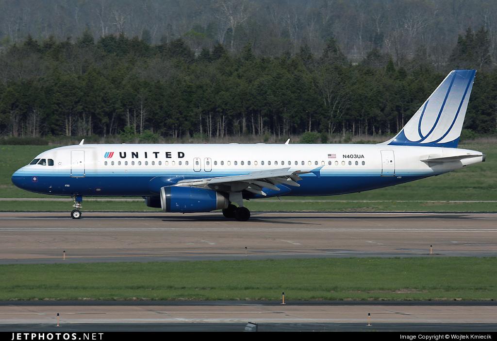 N403UA - Airbus A320-232 - United Airlines