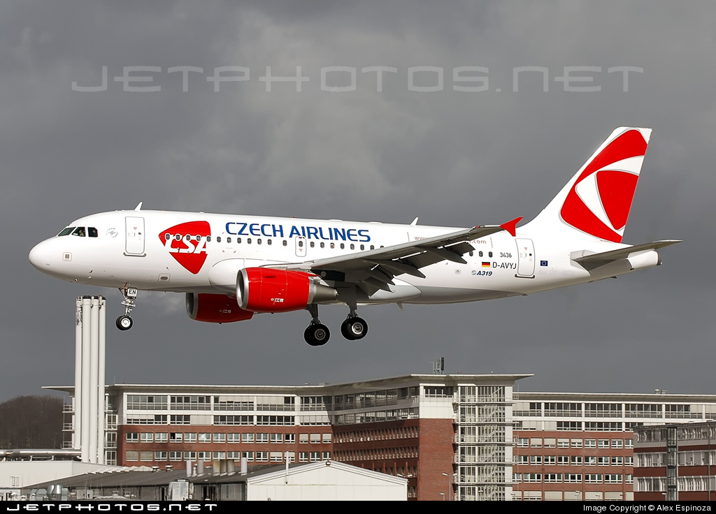 D-AVYJ - Airbus A319-112 - CSA Czech Airlines