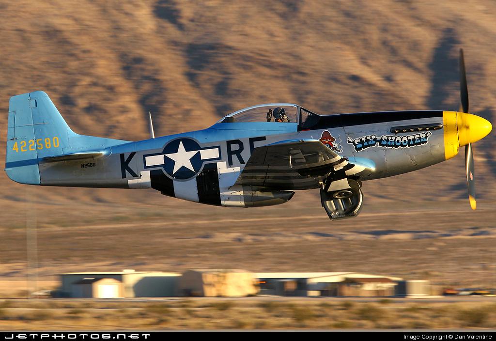 N2580 - North American P-51D Mustang - Private