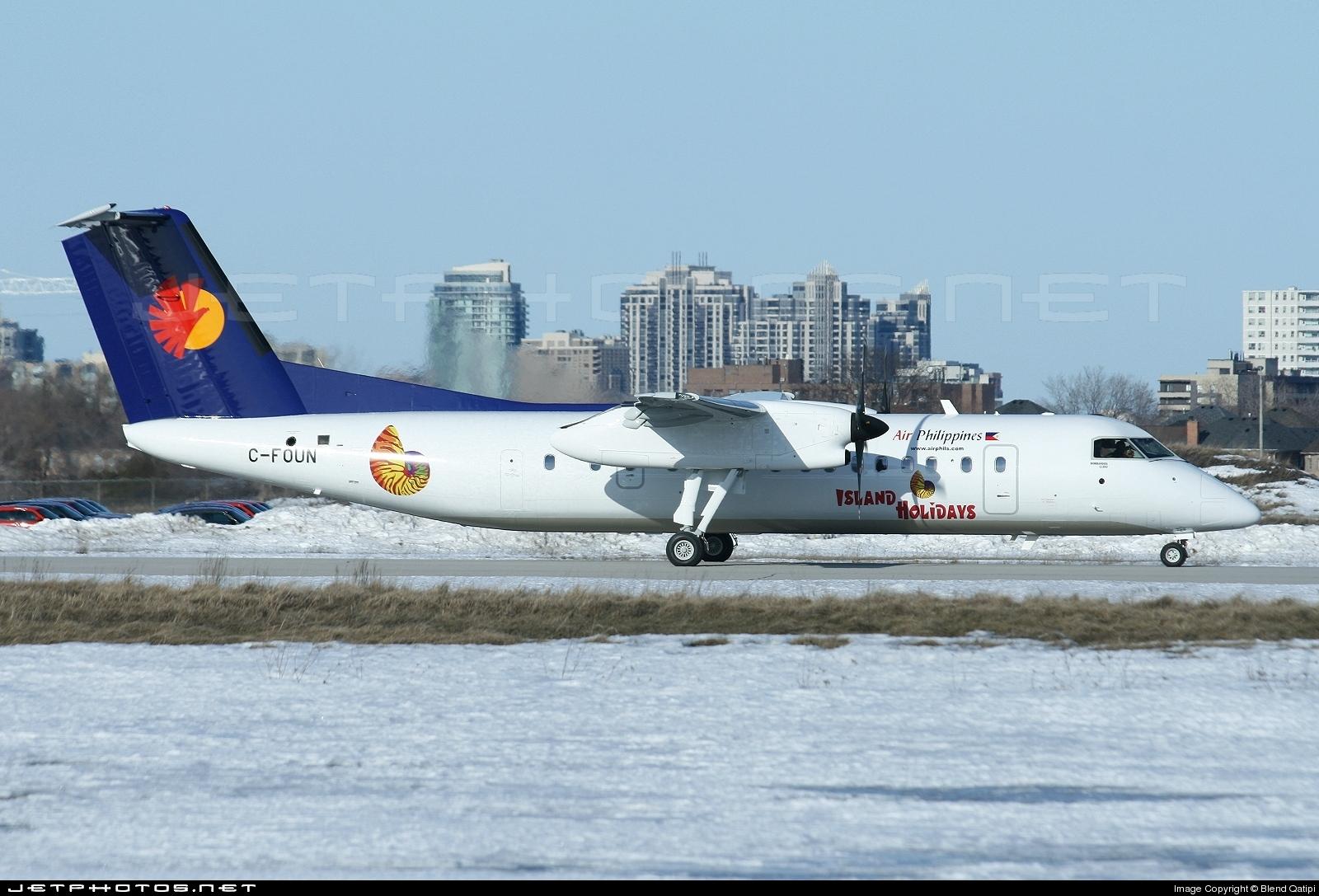 C-FOUN - Bombardier Dash 8-Q314 - Air Philippines
