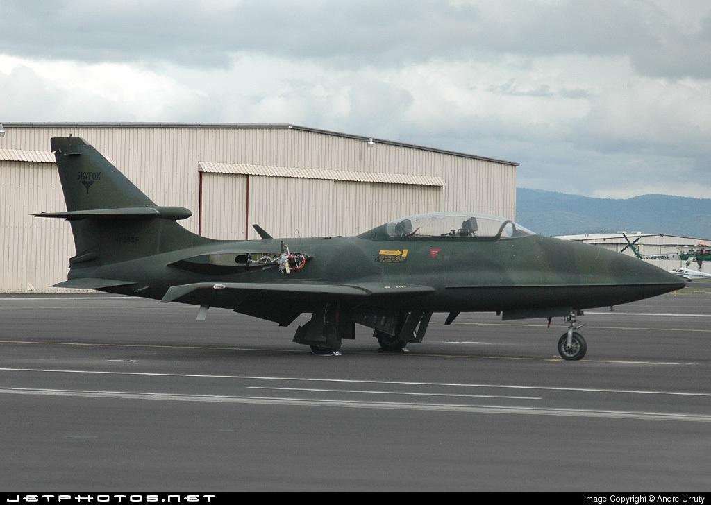 N221SF - Canadair CT-133 Silver Star - Private
