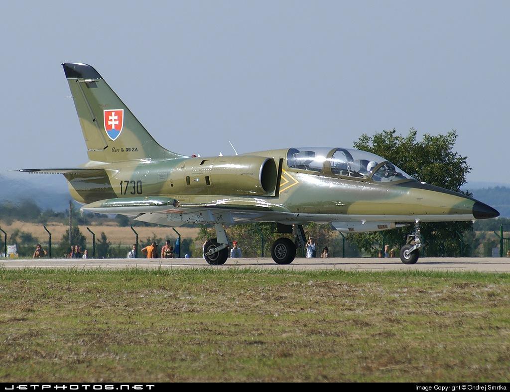 1730 - Aero L-39ZA Albatros - Slovakia - Air Force