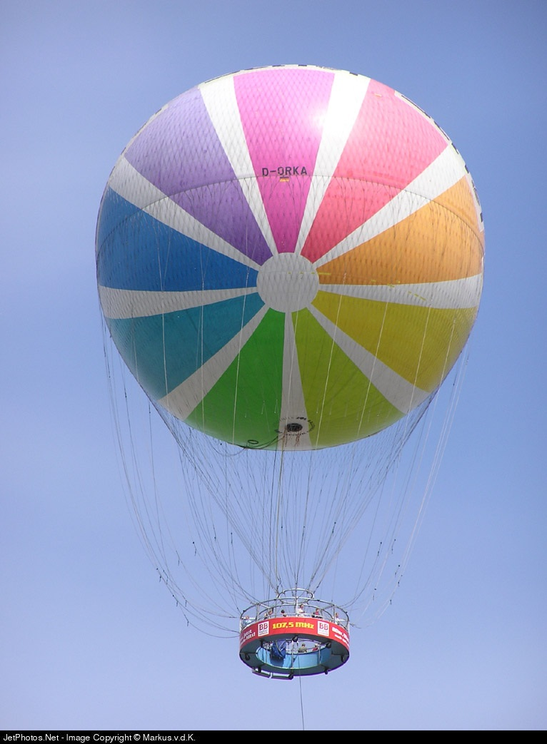 D-ORKA - Wömer FK-5500/STU Gas Balloon - Air Service Berlin