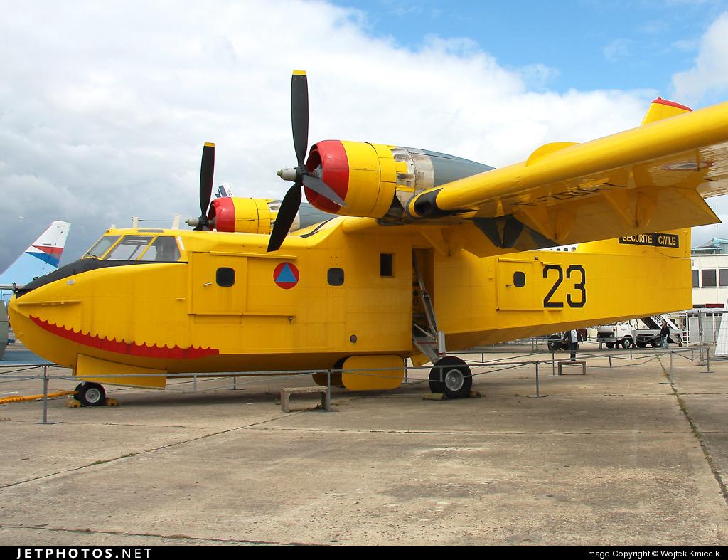 F-ZBAY - Canadair CL-215 - France - Sécurité Civile