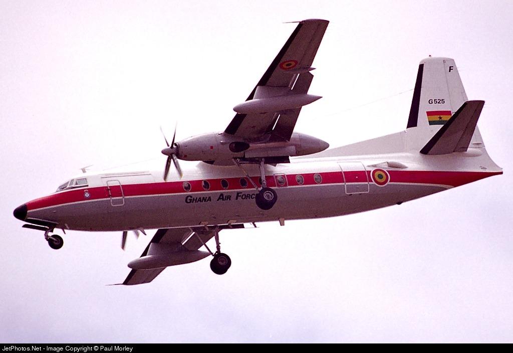 G525 - Fokker F27-500 Friendship - Ghana - Air Force