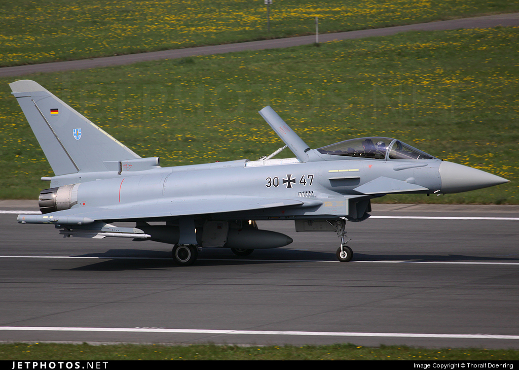 30-47 - Eurofighter Typhoon EF2000 - Germany - Air Force