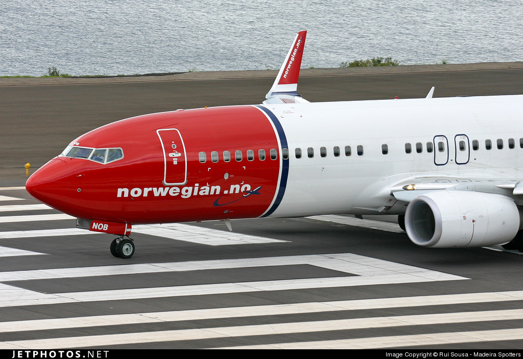 LN-NOB - Boeing 737-8FZ - Norwegian