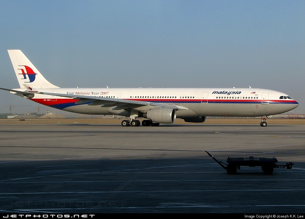 9M-MKC - Airbus A330-322 - Malaysia Airlines