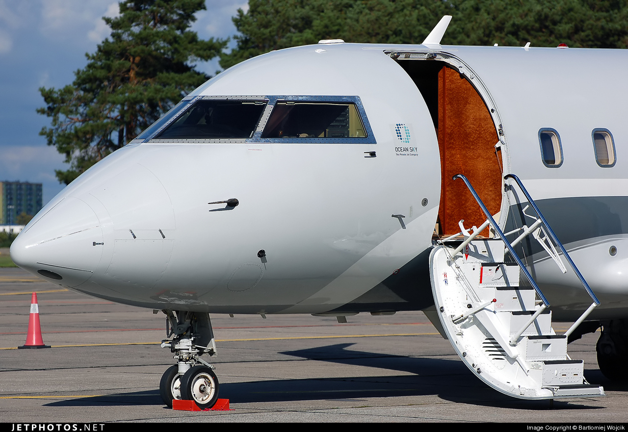 G-OCSC - Bombardier CL-600-2B16 Challenger 604 - Private