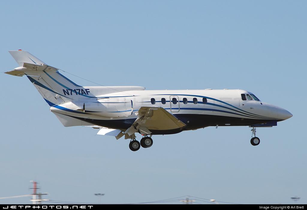 N717AF - Hawker Siddeley HS-125-700A - Private