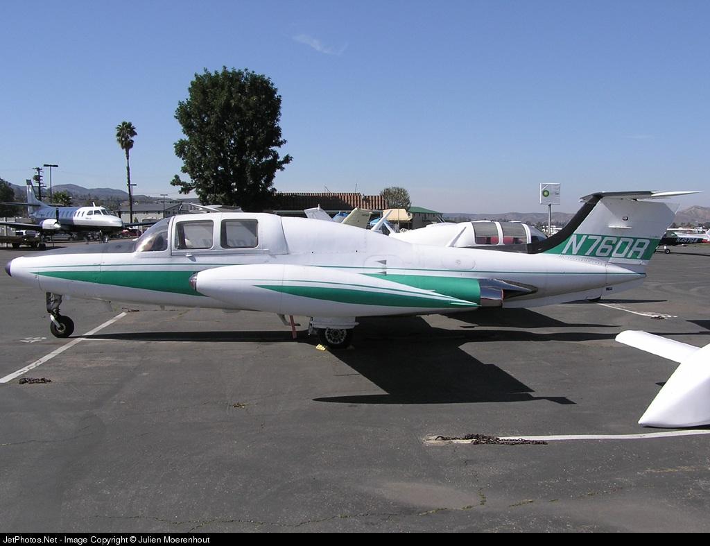 N760R - Morane-Saulnier MS-760 Paris - Private