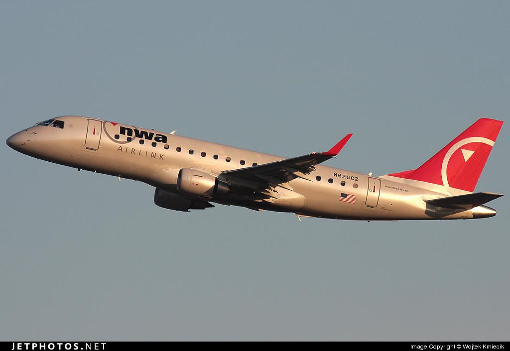 N626CZ - Embraer 170-200LR - Northwest Airlink (Compass Airlines)