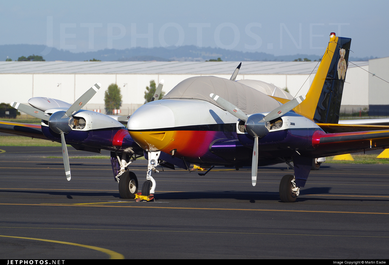 VH-MYM - Beechcraft 95-B55 Baron - Private