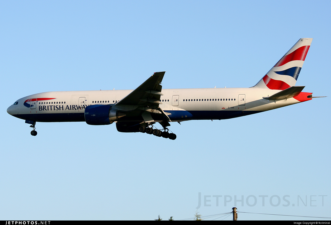 G-VIIE - Boeing 777-236(ER) - British Airways