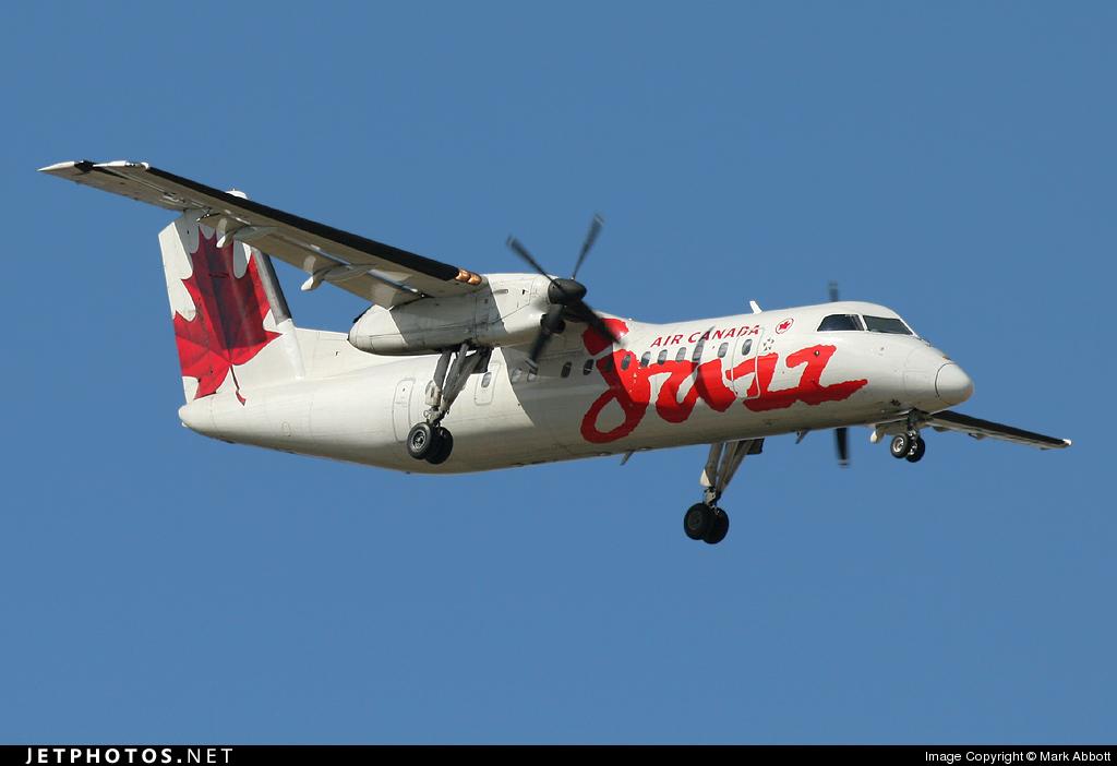 C-FJVV - Bombardier Dash 8-311 - Air Canada Jazz