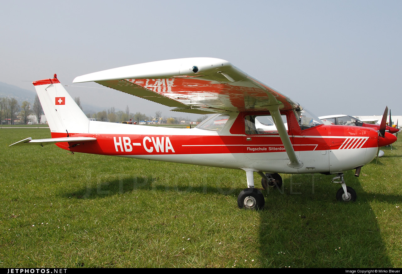 HB-CWA - Reims-Cessna F150L - Private