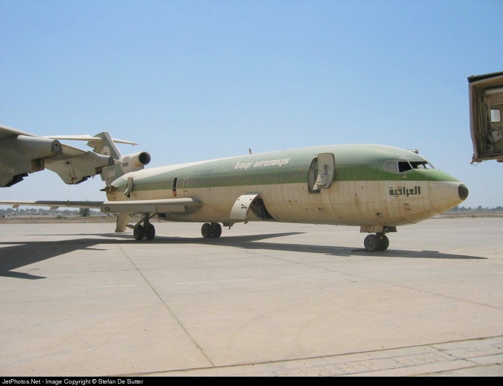 YI-AOZ - Boeing 727-256(Adv) - Iraqi Airways