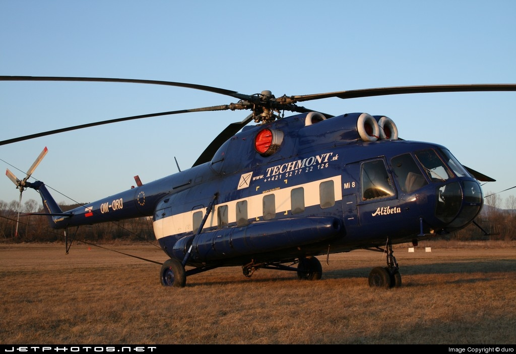 OM-ORO - Mil Mi-8T Hip - Tech-Mont Helicopter Company