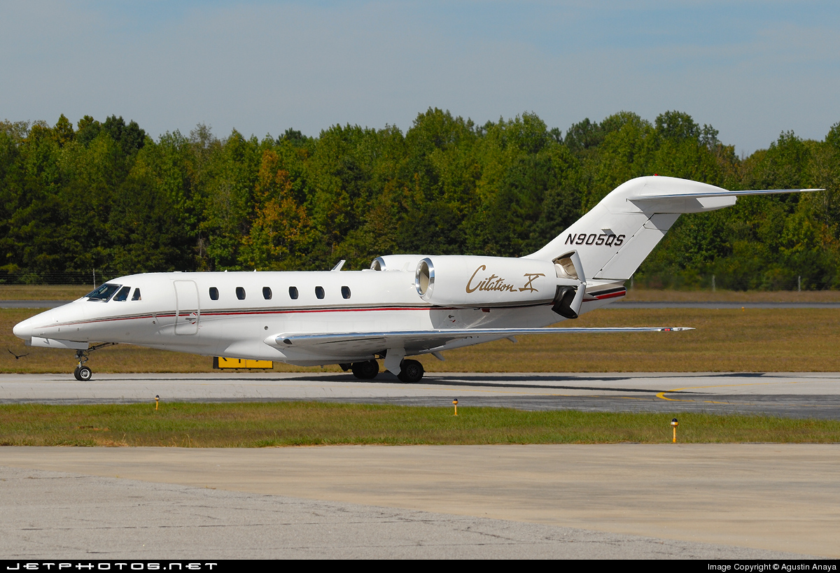N905QS - Cessna 750 Citation X - NetJets Aviation