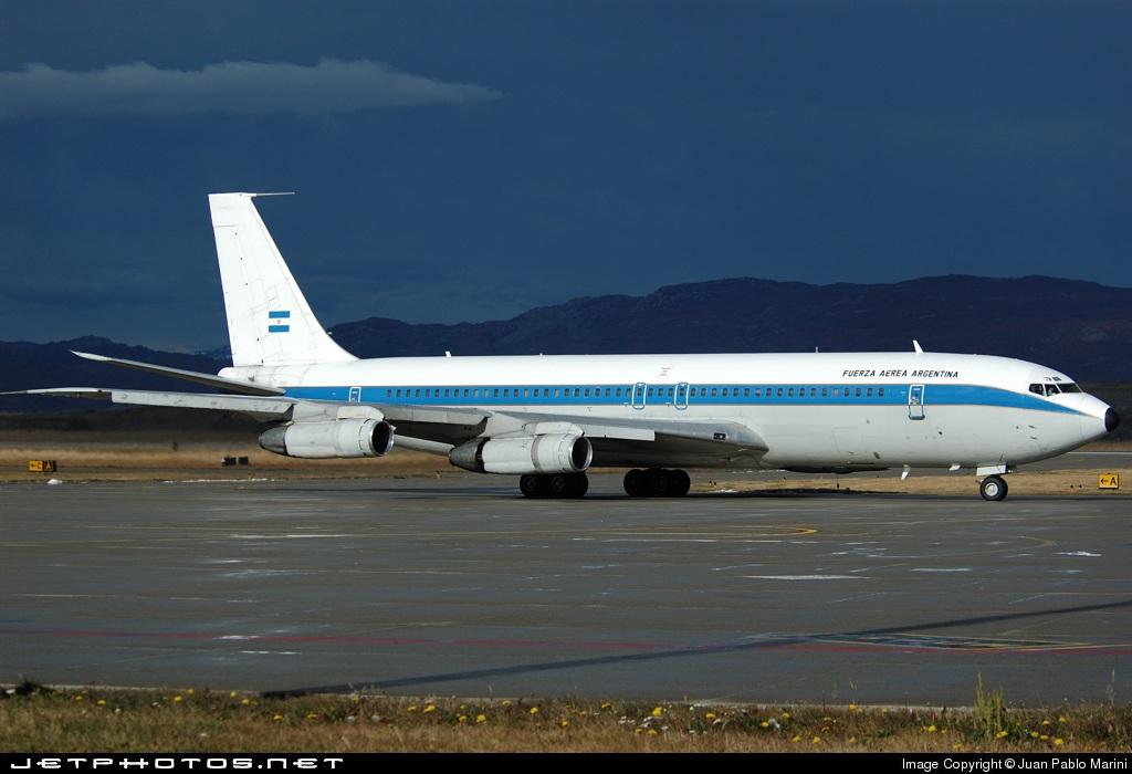 TC-91 - Boeing 707-387B - Argentina - Air Force