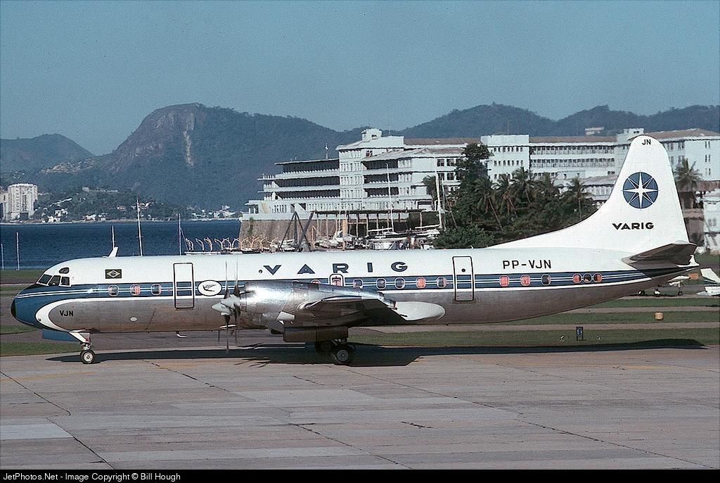 PP-VJN - Lockheed L-188A Electra - Varig