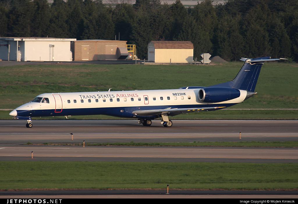 N829HK - Embraer ERJ-145LR - Trans States Airlines