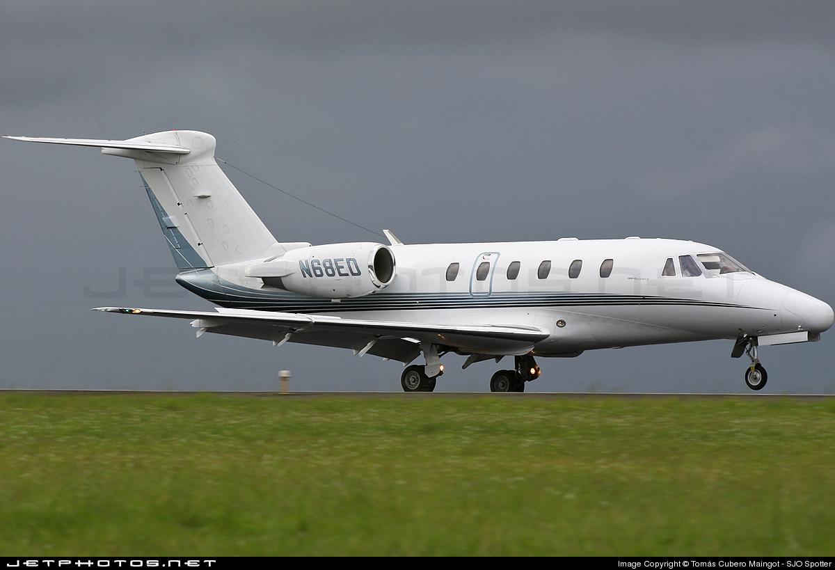 N68ED - Cessna 650 Citation VI - Private