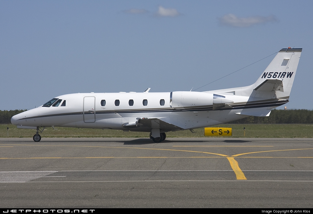 N561RW - Cessna 560XL Citation Excel - Private