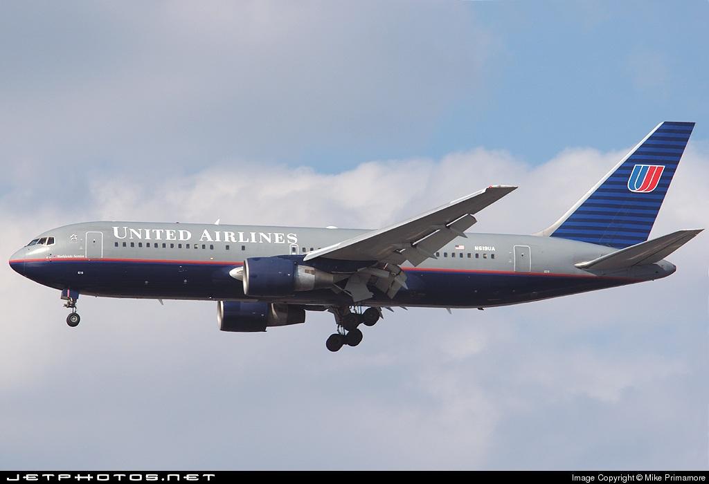 N619UA - Boeing 767-222 - United Airlines