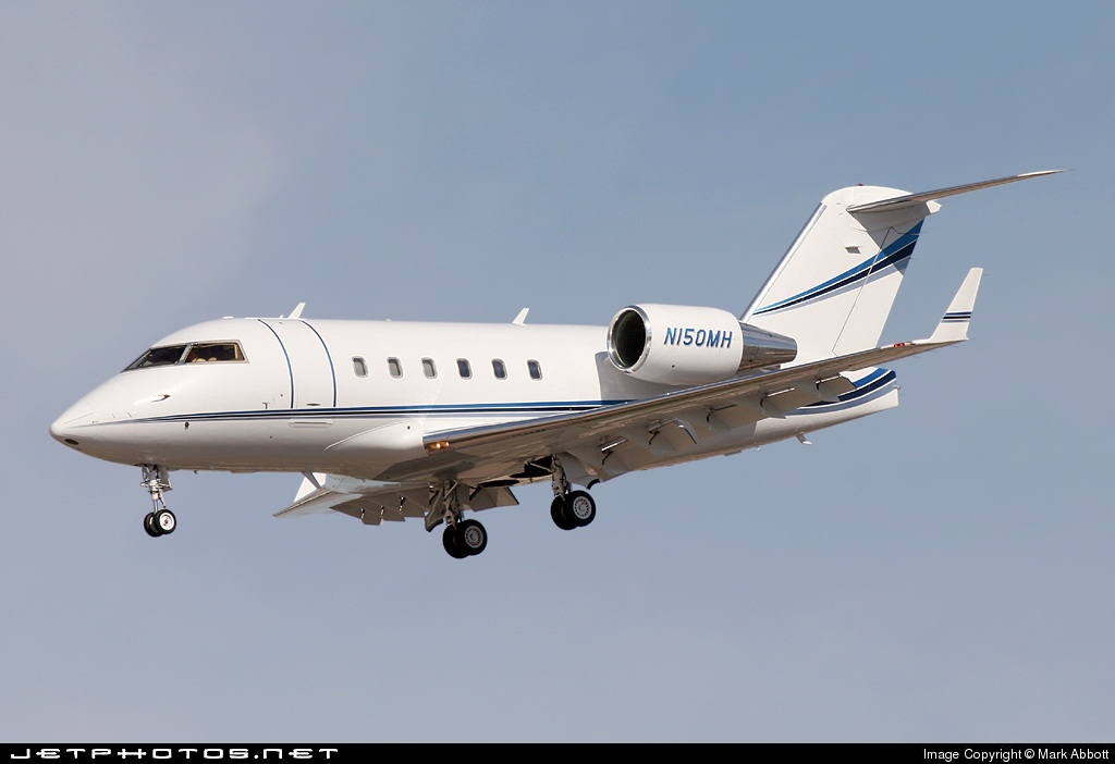 N150MH - Challenger 601 - Private